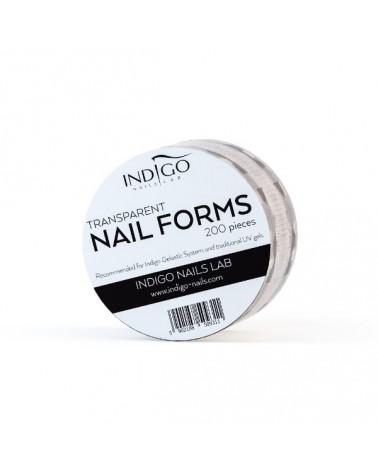 Transparent Nail Forms –...
