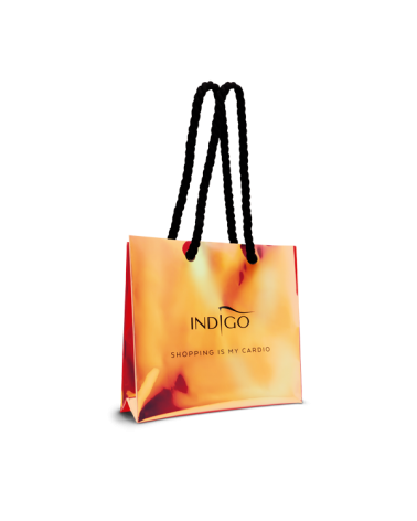Holographic shopping bag -...